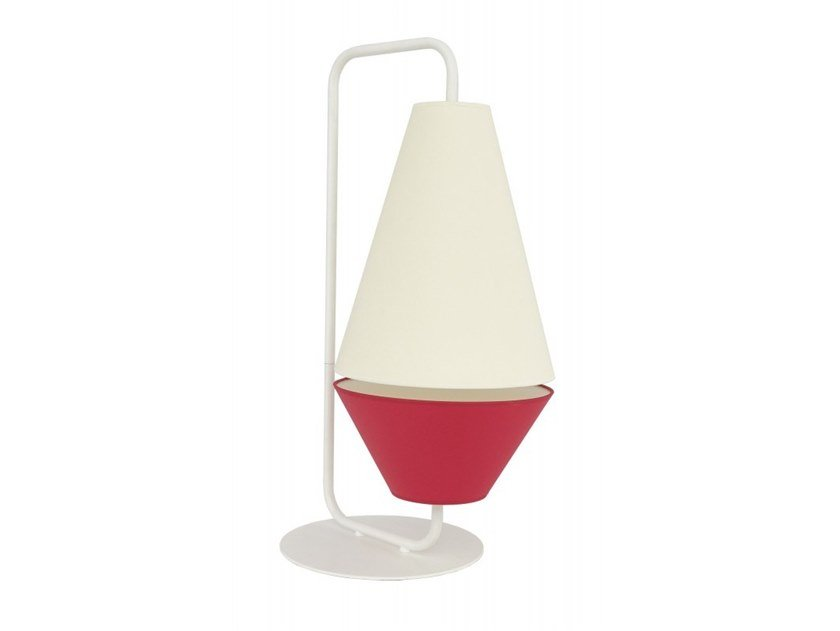Metal table lamp KISS by Flam & Luce