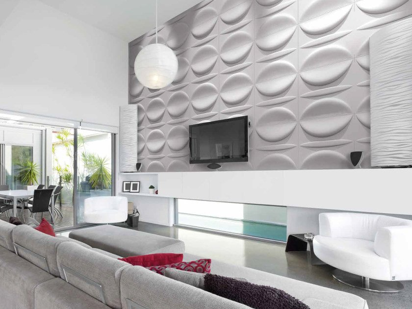 Bamboo fibre 3D Wall Cladding KISS by RECORD - BAGATTINI