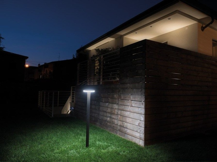 LED bollard light Kit-06 Line 220 Post H1200 by Lombardo
