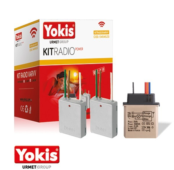 Home automation system for lighting control for households KIT RADIO POWER | Home automation system for lighting control by YOKIS