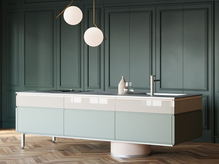 Kitchen with island ARCHETIPO | Kitchen with island by L'Ottocento