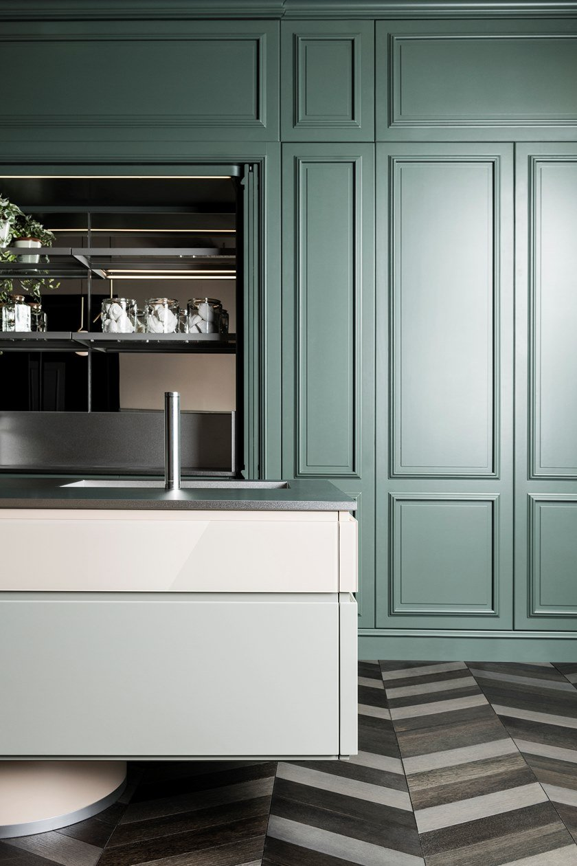 ARCHETIPO | Kitchen with island Archetipo Collection By L\'Ottocento ...