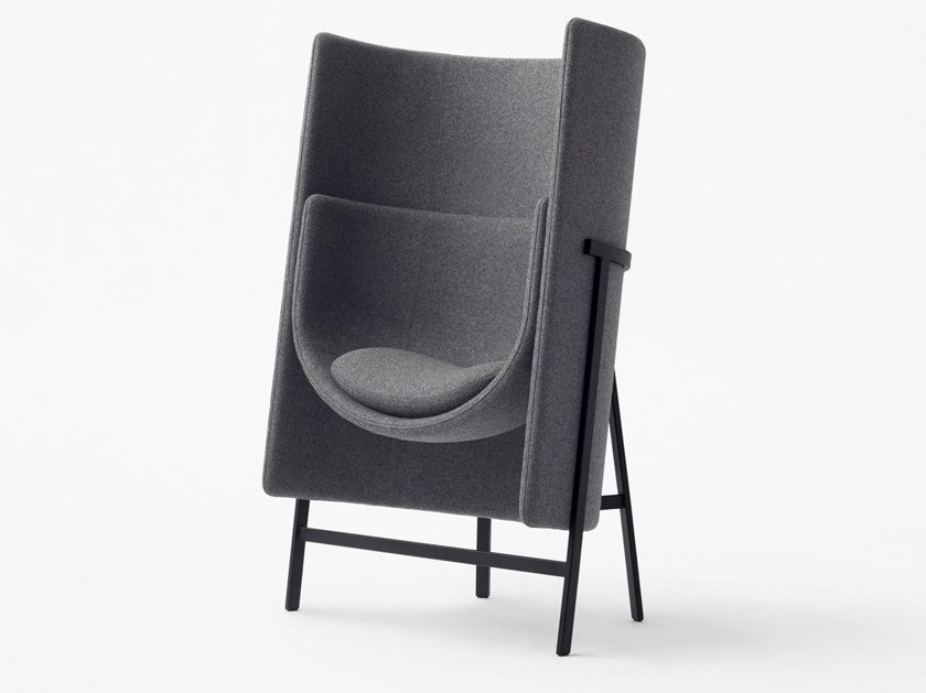 Fabric easy chair high-back KITE | Easy chair high-back by STELLAR WORKS