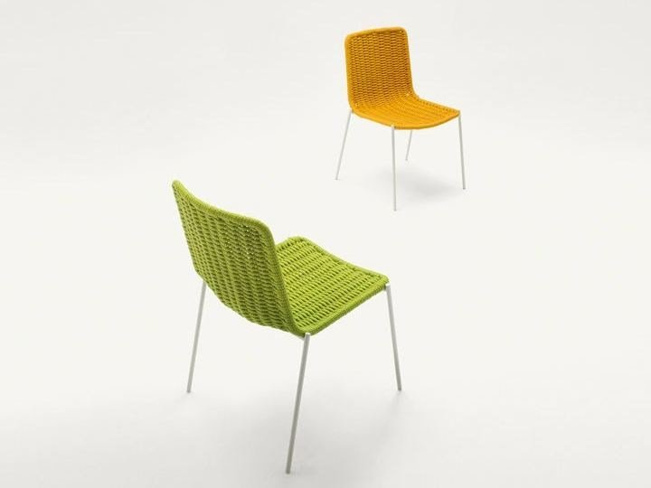 Stackable garden chair KITI by paola lenti