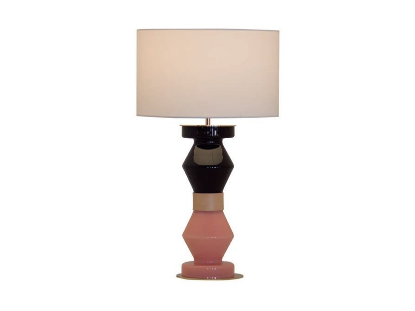 Stained glass table lamp with fixed arm KITTA KITTA | Glass table lamp by Aromas del Campo