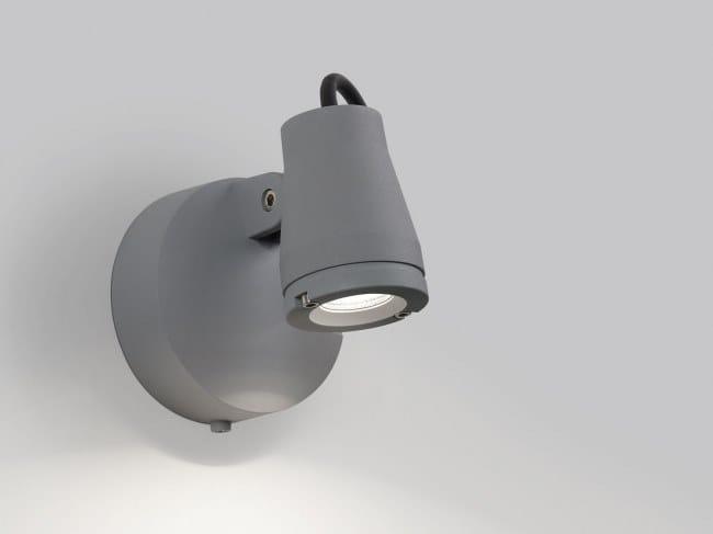 Faretto per esterno a LED orientabile KIX M | Faretto per esterno by Delta Light