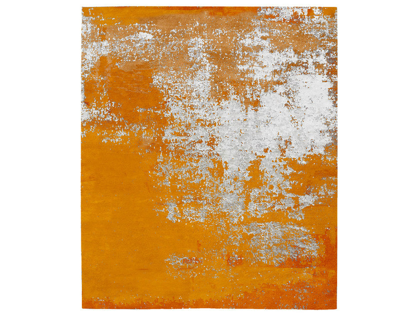 Handmade rug KLAFRESTROM DIAMOND SUNSET by HENZEL STUDIO