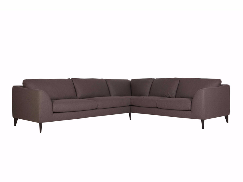 5 seater corner upholstered fabric sofa KLARA | 5 seater sofa by SITS