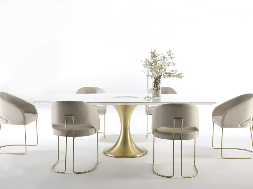 Lacquered dining table KLASS | Lacquered table by MasqLiving