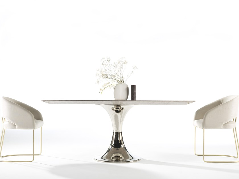 Marble dining table KLASS   Marble table by MasqLiving
