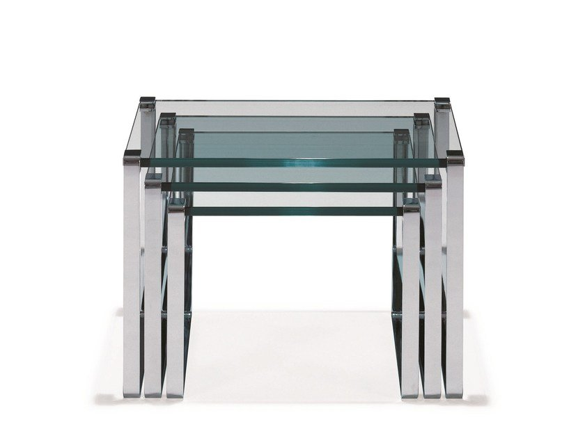 Glass side table KLASSIK | Side table by Draenert