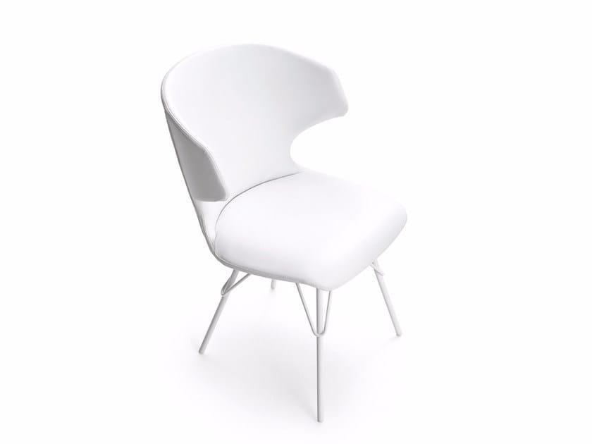 Fabric chair KLOE   Chair by Varaschin