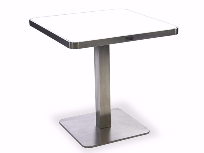 HPL garden table KNIGHTSBRIDGE   Square table by INDIAN OCEAN