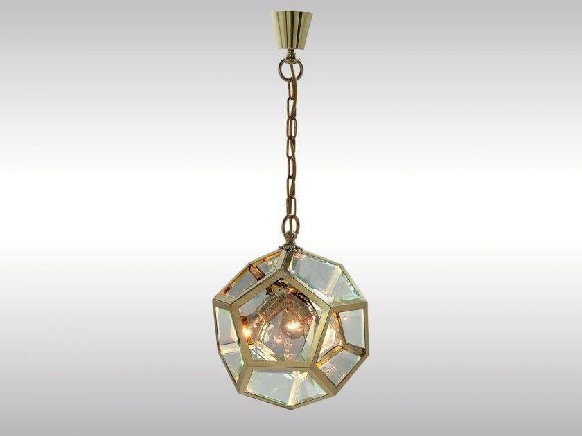 Classic style pendant lamp KNIZE-35 by Woka Lamps Vienna
