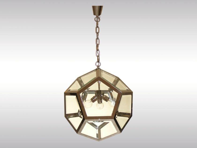Classic style pendant lamp KNIZE-55 by Woka Lamps Vienna