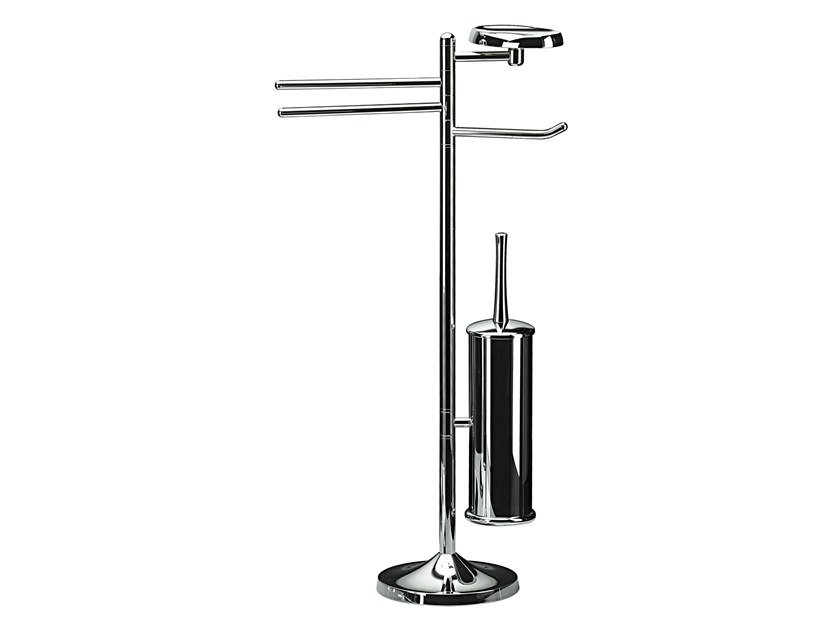 Standing chromed brass towel rack KOKO by KOH-I-NOOR