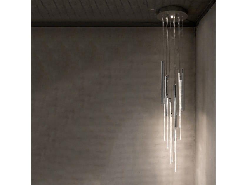LED aluminium pendant lamp KOKO by Martinelli Luce
