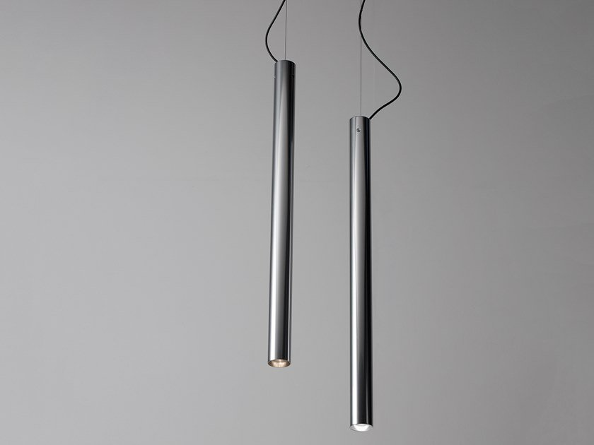 LED aluminium pendant lamp KOKOUNO by Martinelli Luce