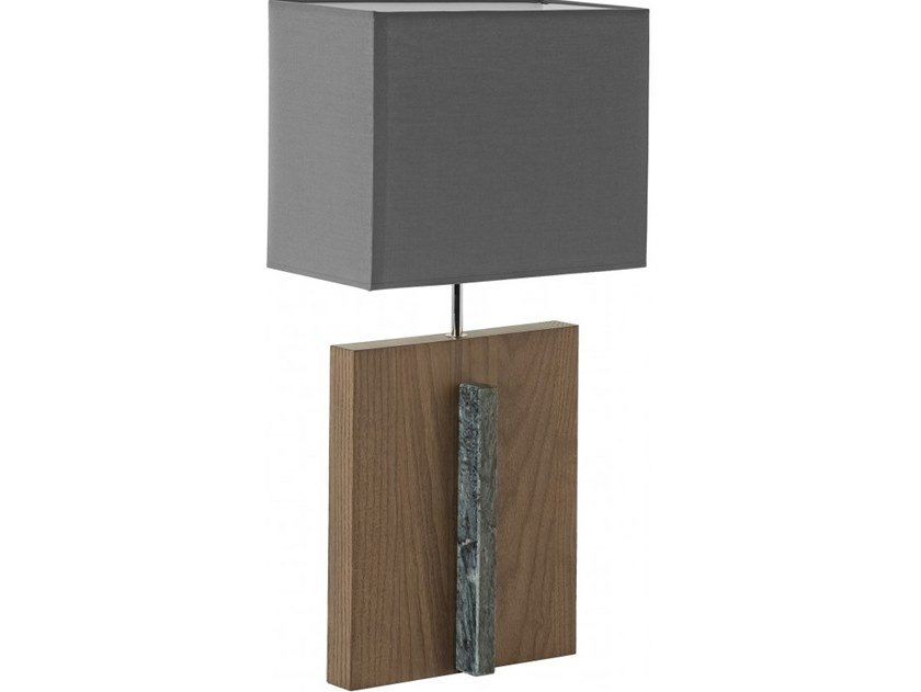 Wooden table lamp KOMBA by Flam & Luce
