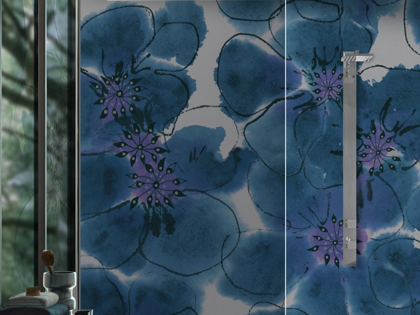 Vinyl wallpaper with floral pattern KOMO by Baboon
