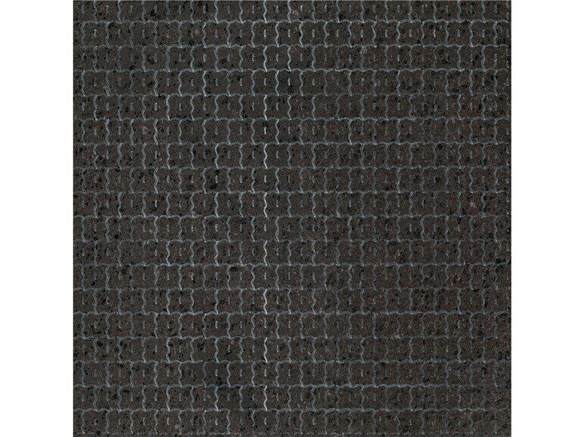 Lava stone wall/floor tiles KOMON NATURA KN12 by Made a Mano