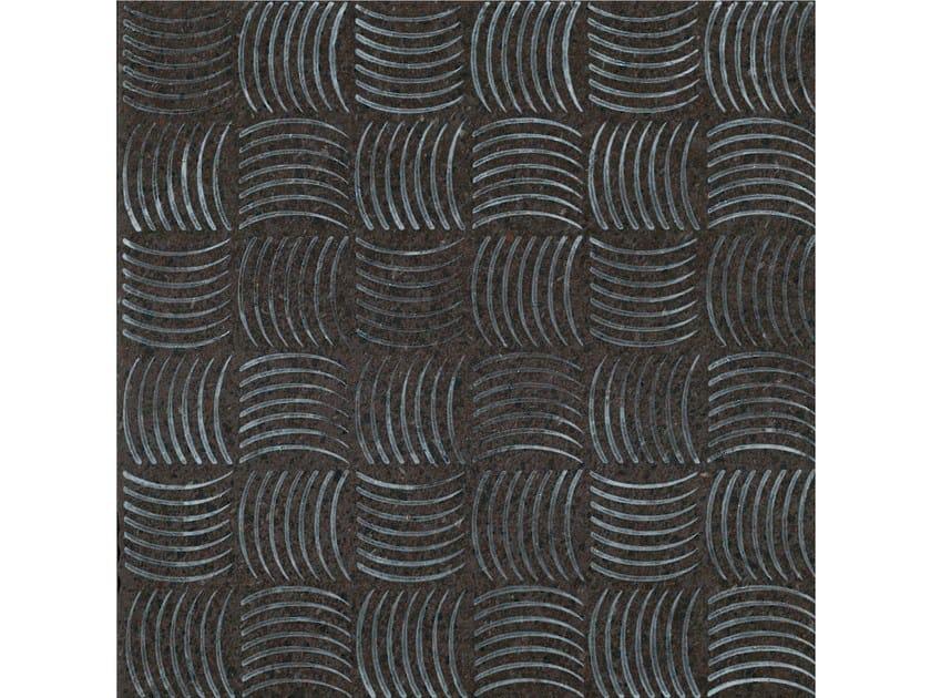 Lava stone wall/floor tiles KOMON NATURA KN15 by Made a Mano