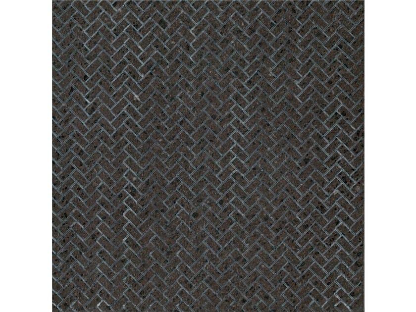 Lava stone wall/floor tiles KOMON NATURA KN18 by Made a Mano