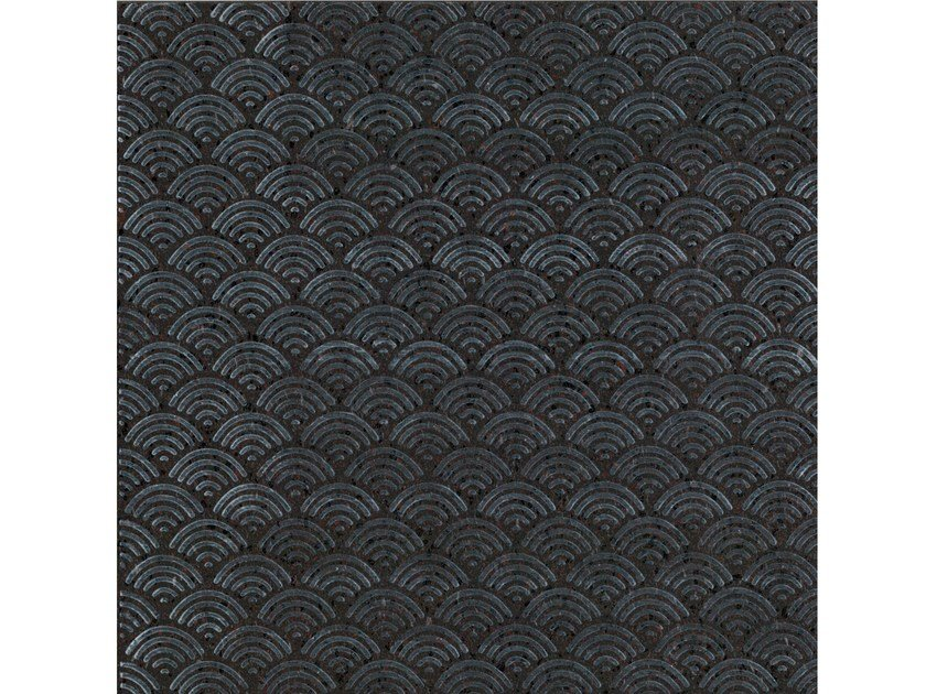 Lava stone wall/floor tiles KOMON NATURA KN4 by Made a Mano