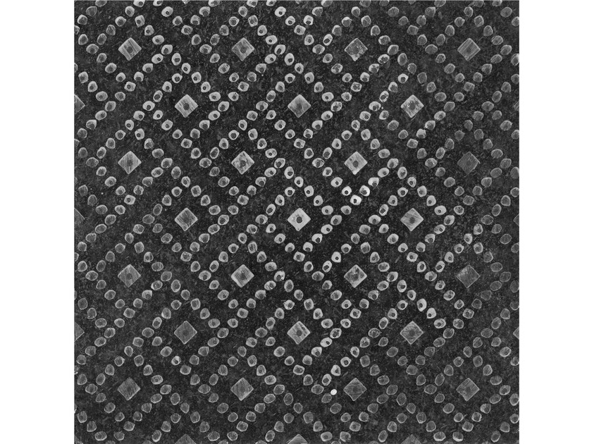 Lava stone wall/floor tiles KOMON NATURA KN7 by Made a Mano