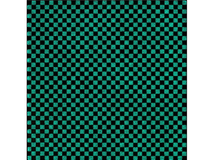 Lava stone wall/floor tiles KOMON TATTO LUMINESCENT KTL15 by Made a Mano