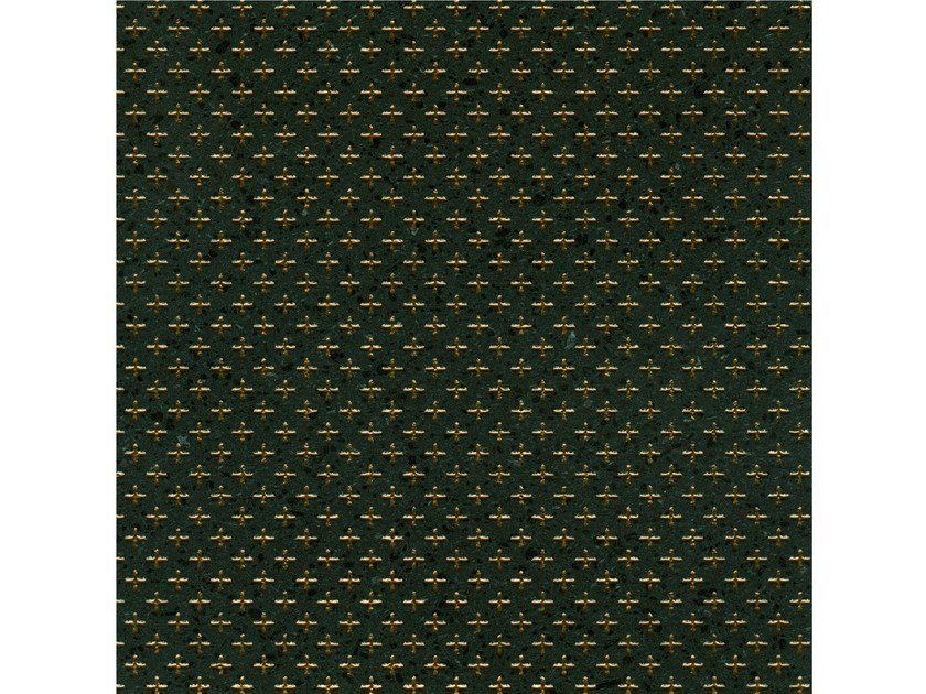 Lava stone wall/floor tiles KOMON TATTO KT3 BRONZO by Made a Mano