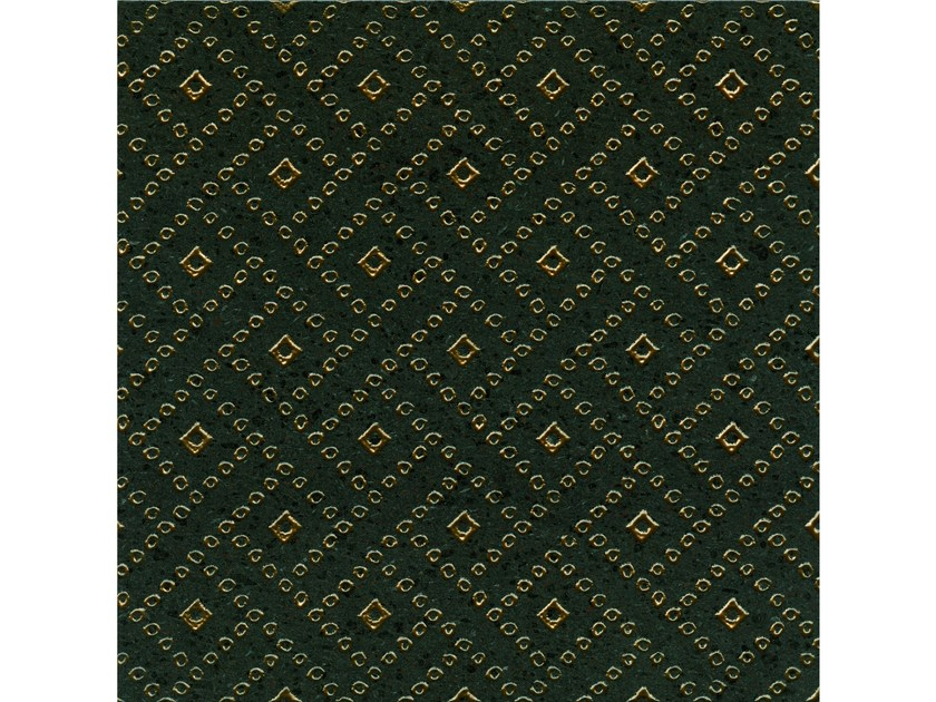 Lava stone wall/floor tiles KOMON TATTO KT7 BRONZO by Made a Mano