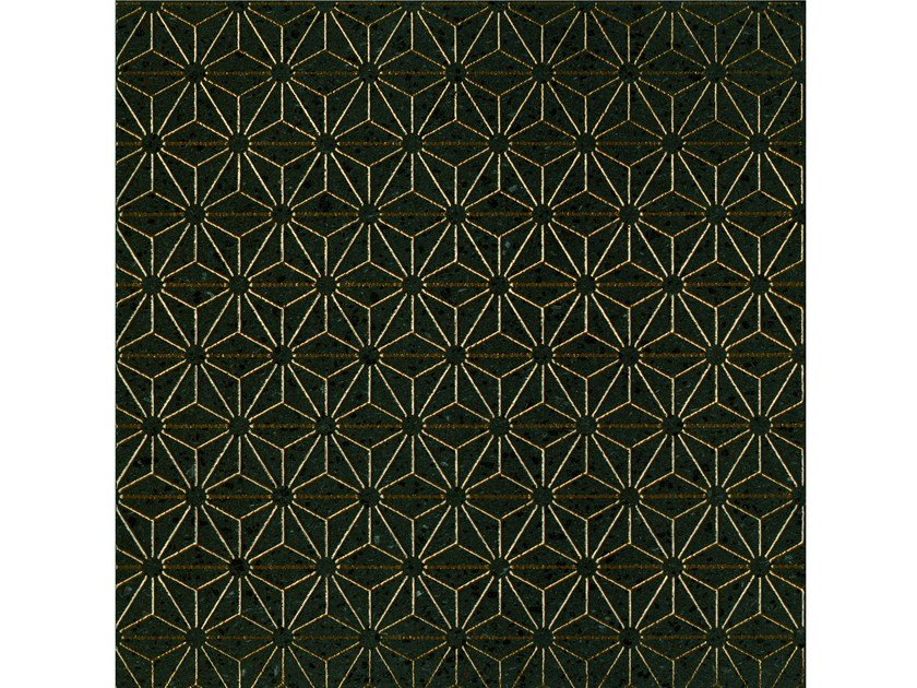 Lava stone wall/floor tiles KOMON TATTO KT11 BRONZO by Made a Mano