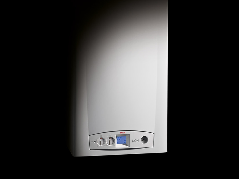 Wall-mounted outdoor condensation boiler KONm by Unical AG