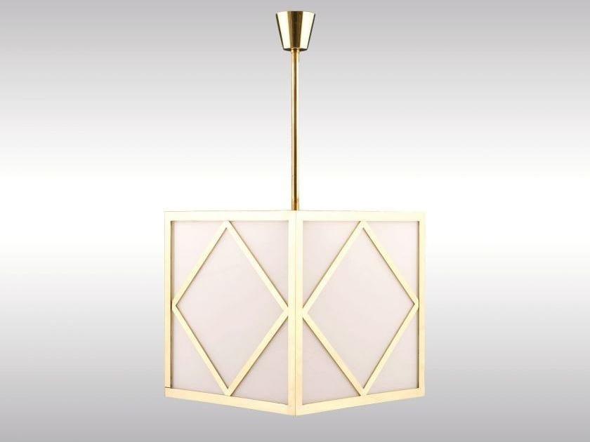 Classic style pendant lamp KONZERTHAUS by Woka Lamps Vienna