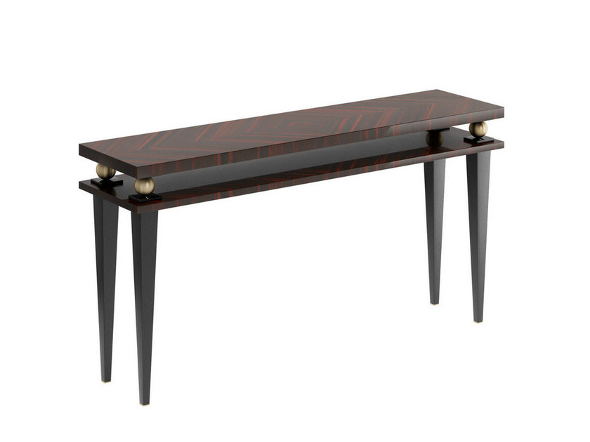 Rectangular Wooden Console Table KORP K By Capital Collection