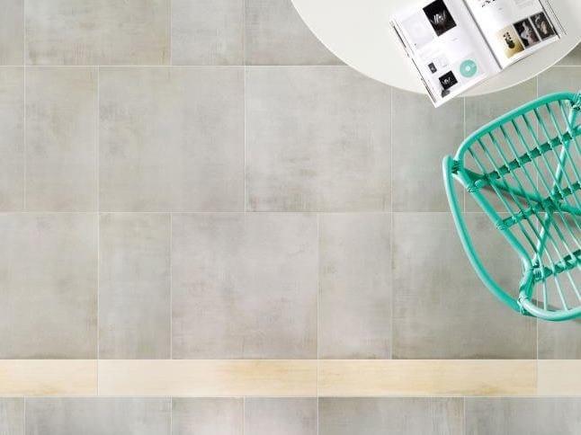 Pavimento/rivestimento in gres porcellanato KORZILIUS NEUTRAL | Pavimento by tubadzin