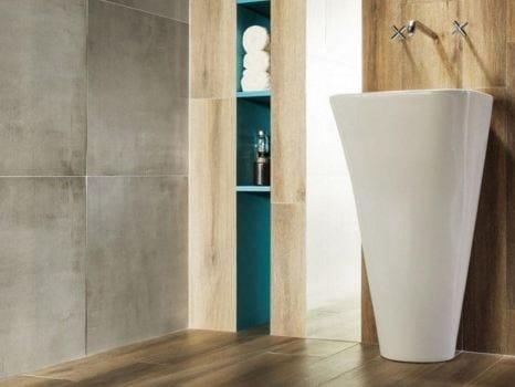 Pavimento/rivestimento in gres porcellanato KORZILIUS NEUTRAL | Pavimento/rivestimento by tubadzin