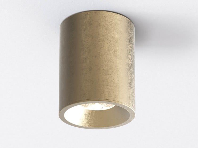 Faretto per esterno a LED in ottone a soffitto KOS ROUND by Astro Lighting