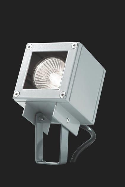 Adjustable aluminium Outdoor floodlight KOS F.3882 by Francesconi & C.