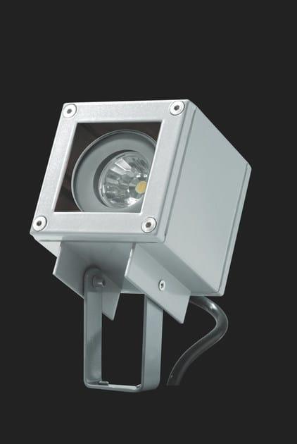 LED aluminium Outdoor floodlight KOS F.3884 by Francesconi & C.