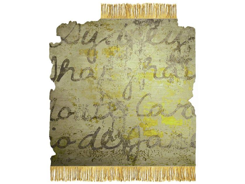 Handmade rug KOSMOPOLIT W5 FROZEN CUT by HENZEL STUDIO