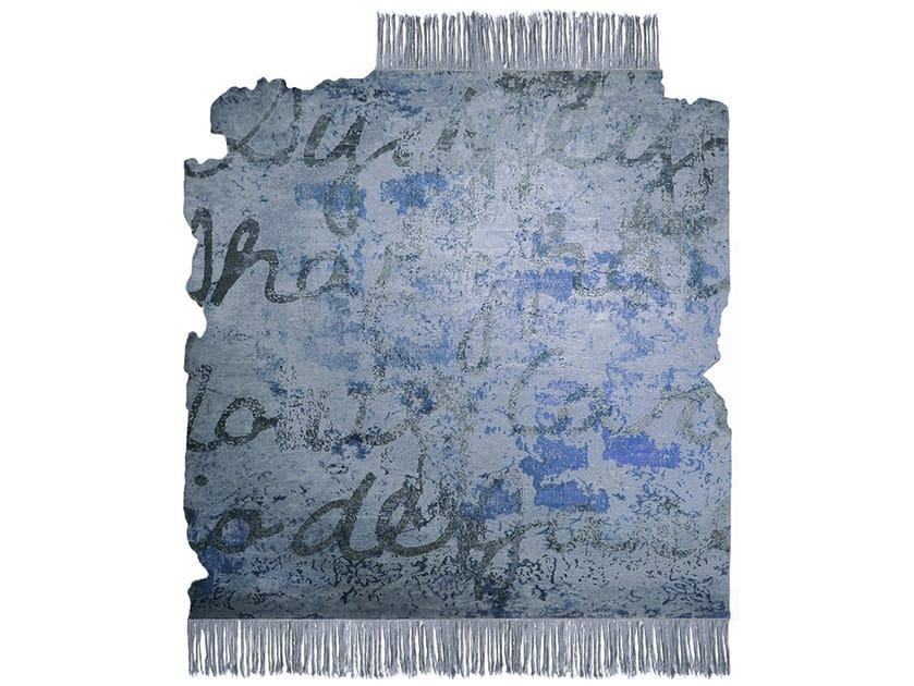 Handmade rug KOSMOPOLIT W6 FROZEN CUT by HENZEL STUDIO
