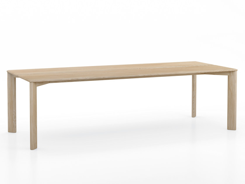 Rectangular oak dining table KOTAI | Rectangular table by EXPORMIM