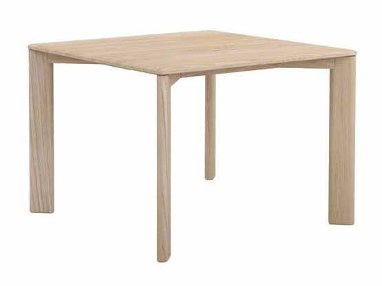 Square oak dining table KOTAI | Square table by EXPORMIM