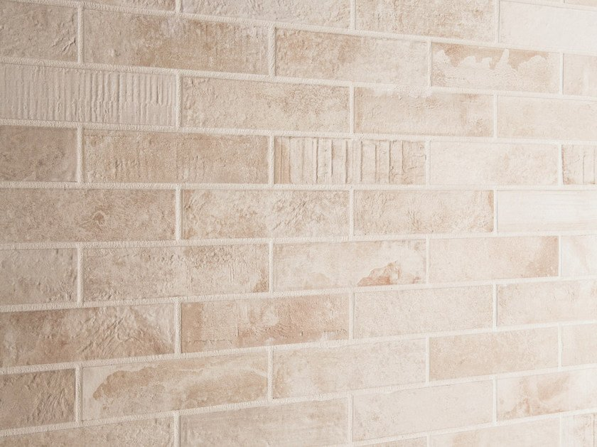 Porcelain stoneware wall/floor tiles with brick effect KOTTO XS CALCE by EmilCeramica by Emilgroup