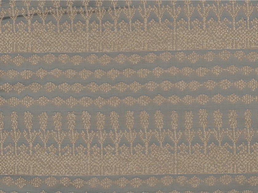 Jacquard polyester and cotton fabric with graphic pattern KOTWARA by KOHRO
