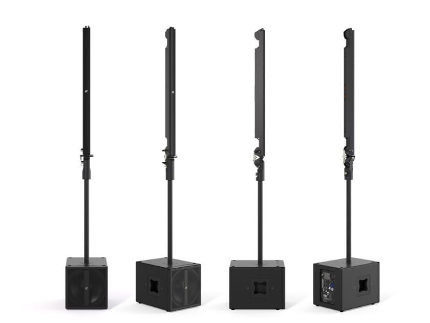 Sistema stereo ad alta tecnologia di piccolo formato PINNACLE KR102 l by K-array