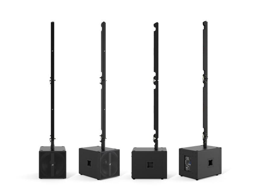 Sistema audio portatile leggero e tecnologico PINNACLE  KR202 l by K-array