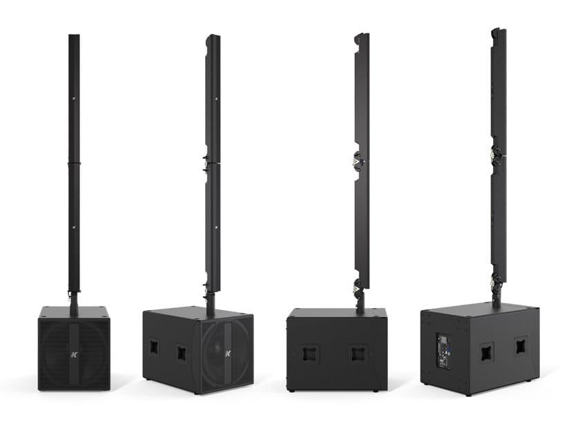 Sistema stereo ad alta tecnologia di medio formato PINNACLE KR402 l by K-array